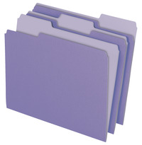 Top Tab File Folders, Item Number 002866