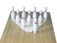 Bowling, Bowling Set, Toy Bowling Set, Item Number 005753