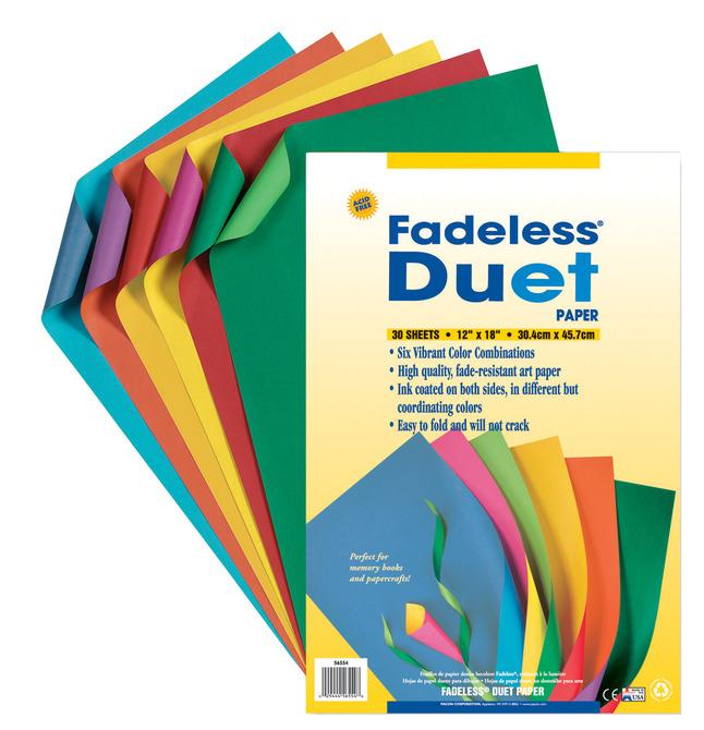 Fade Resistant Paper, Item Number 006639