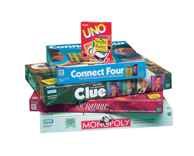 Classic Games, Popular Board Games, Classic Board Games Supplies, Item Number 006934