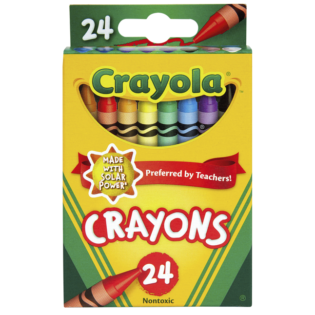 Standard Crayons, Item Number 007521