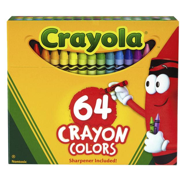 Standard Crayons, Item Number 007539