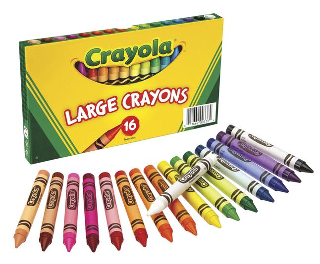 Beginners Crayons, Item Number 007551