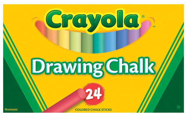 Drawing Chalk, Item Number 007629