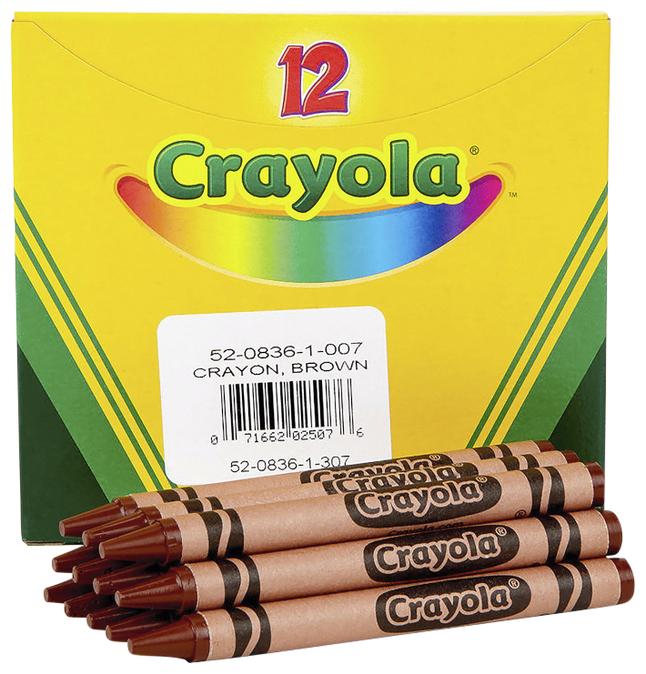 Standard Crayons, Item Number 007641