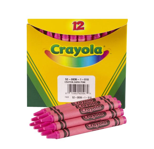 Standard Crayons, Item Number 007644