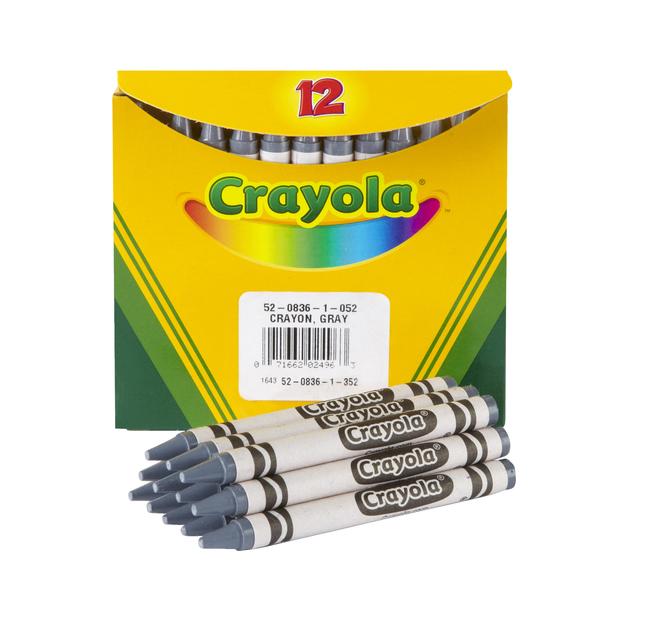 Standard Crayons, Item Number 007647