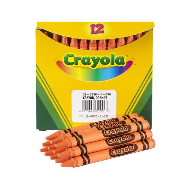 Standard Crayons, Item Number 007653