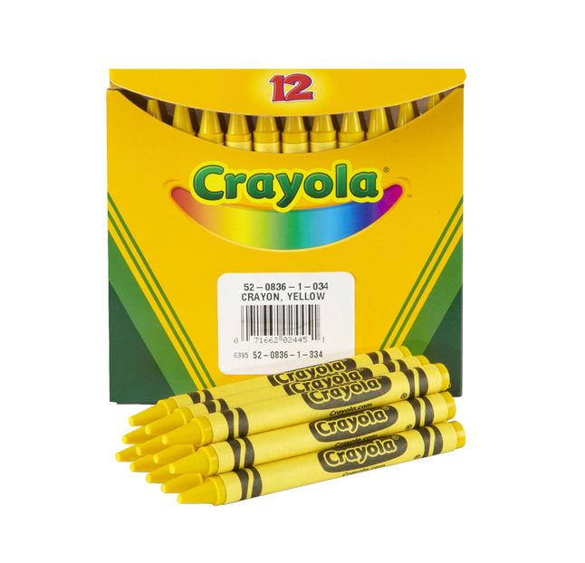 Standard Crayons, Item Number 007668