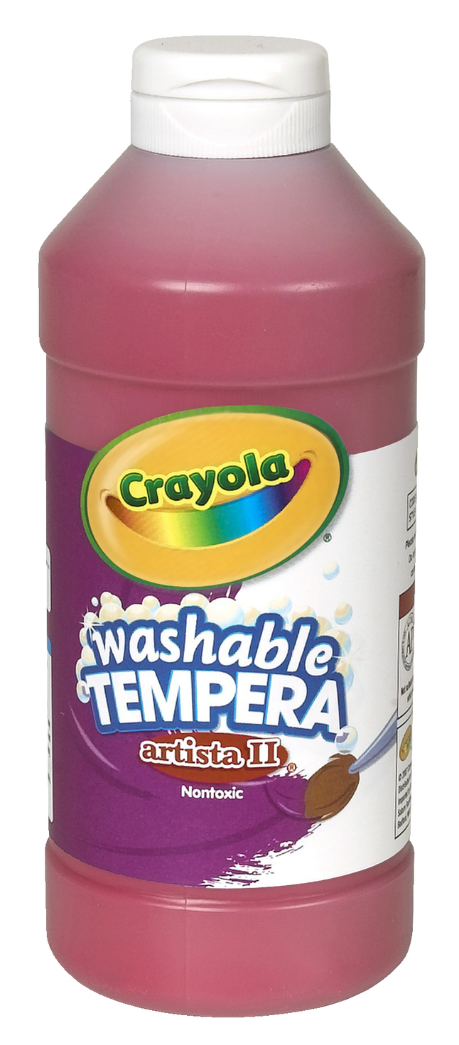 Tempera Paint, Item Number 007692