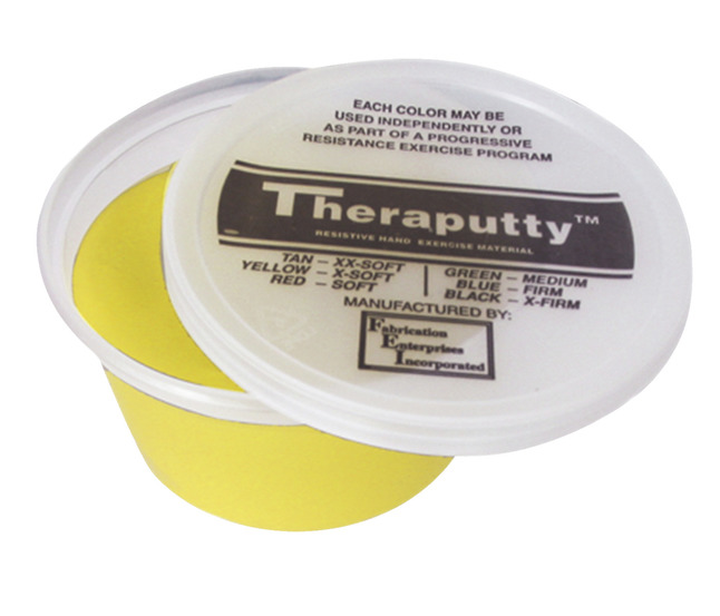CanDo X-Soft Theraputty, 2 Ounce, Yellow