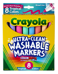 Washable Markers, Item Number 008199