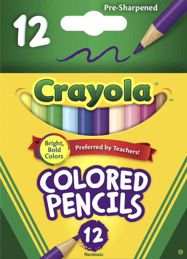Colored Pencils, Item Number 008223