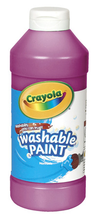 Crayola Washable Paint, Pint, Magenta Item Number 008238