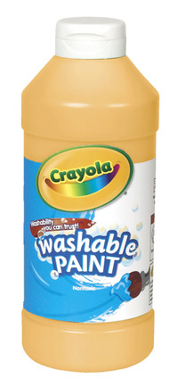 Crayola Washable Paint, Pint, Peach Item Number 008244