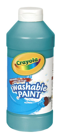 Crayola Washable  Paint, Pint, Turquoise Item Number 008250