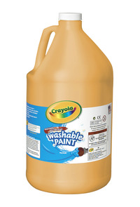 Crayola Washable Paint, Gallon, Peach Item Number 008280