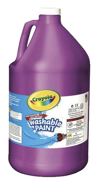 Crayola Washable Paint, Gallon, Violet Item Number 008289