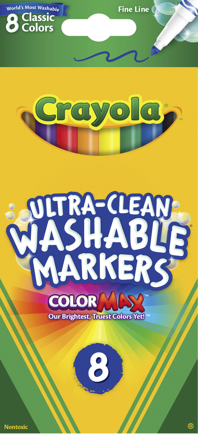 Washable Markers, Item Number 008538