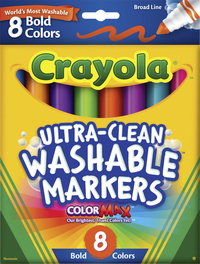 Washable Markers, Item Number 008544