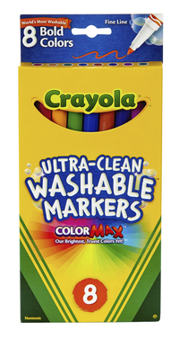 Washable Markers, Item Number 008547