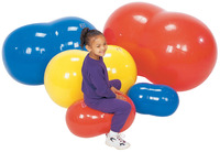 Gymnic 12 inch Physio-Roll Ball, Blue Item Number 008912