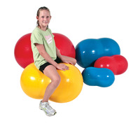 Gymnic 28 in Physio-Roll Ball, Blue Item Number 009158