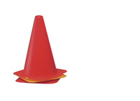 Cones, Safety Cones, Sports Cones, Item Number 008963