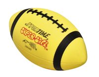 Sportime Super-Safe Large Football Ball, Size 7, Yellow Item Number 009062