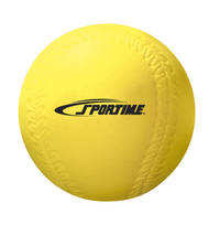 Sportime Coated Foam Softball, Yellow Item Number