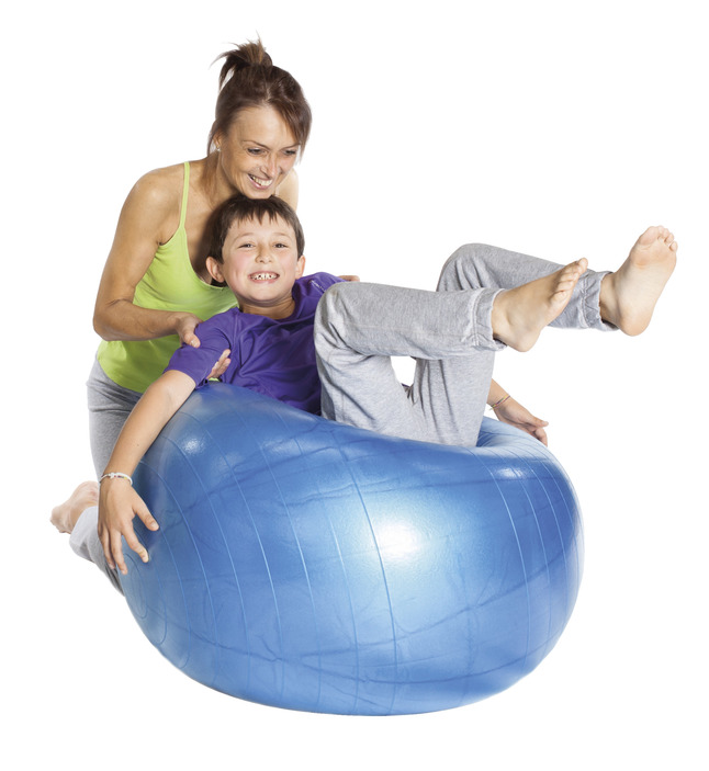 Therapy Balls, Large Inflatable Ball, Item Number 009374