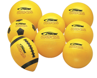 Sportime Super-Safe Junior Basketball, 7 Inches, Yellow Item Number 009551