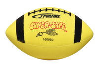 Sportime Super-Safe Youth Football, Yellow and Black Item Number 009553