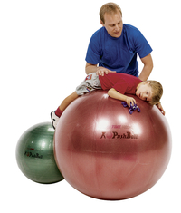 Therapy Balls, Large Inflatable Ball, Item Number 009706