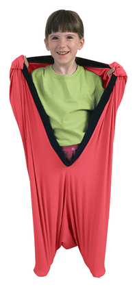 Image for Abilitations Dynamic Movement Body Pod, X-Small, Lycra, Orange from School Specialty