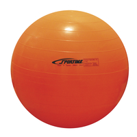 Sportime Economy Play and Exercise Ball, 21-1/2 Inches, Orange Item Number 010522