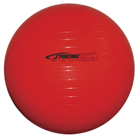 Sportime Economy Play and Exercise Ball, 29-1/2 Inches, Red Item Number 010525