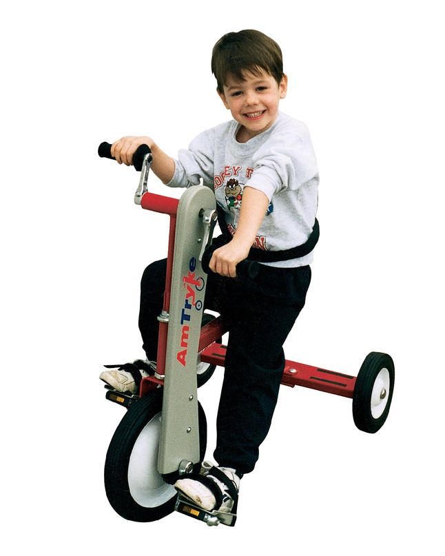 Click for larger version of AmTryke Therapeutic Tricycle - Large Frame without Seat