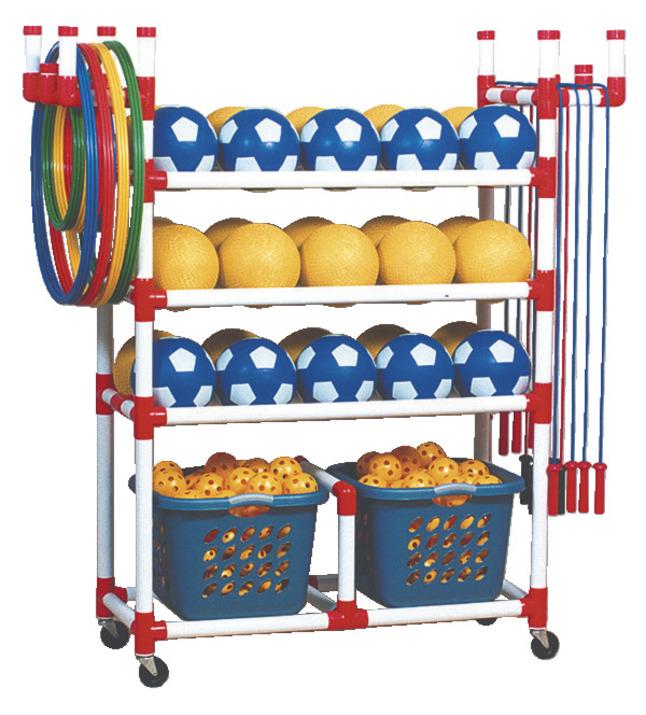 Sports Equipment Storage & Carts , Item Number 012634