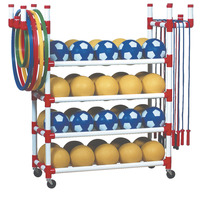 Sports Equipment Storage & Carts , Item Number 012635