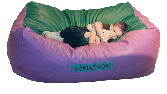 Surprising Somatron Body Pillow With Vibrations 60 X 36 X 24 Inches Leather Like Vinyl Purple Green Squirreltailoven Fun Painted Chair Ideas Images Squirreltailovenorg
