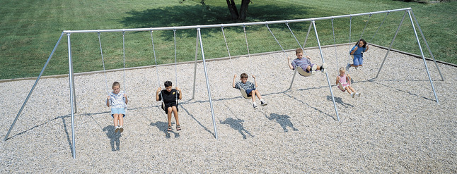 Metal Swing Sets, Outdoor Swing Sets, Metal & Outdoor Swing Sets Supplies, Item Number 013131