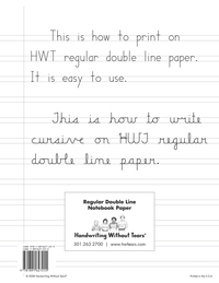 Lined Paper and Primary Ruled Paper, Item Number 015728