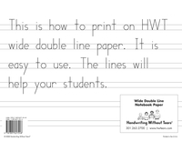 Lined Paper and Primary Ruled Paper, Item Number 015730