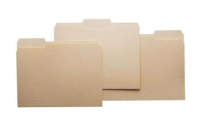 Top Tab File Folders, Item Number 015768