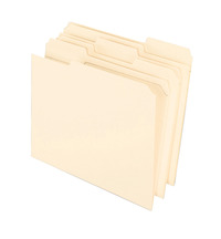 Top Tab File Folders, Item Number 015780