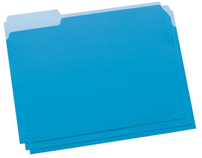 Top Tab File Folders, Item Number 015789
