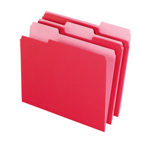 Top Tab File Folders, Item Number 015792