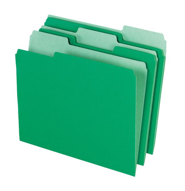 Top Tab File Folders, Item Number 015798