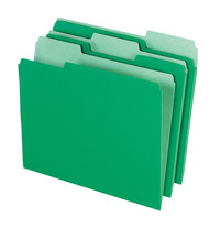 Top Tab File Folders, Item Number 015798